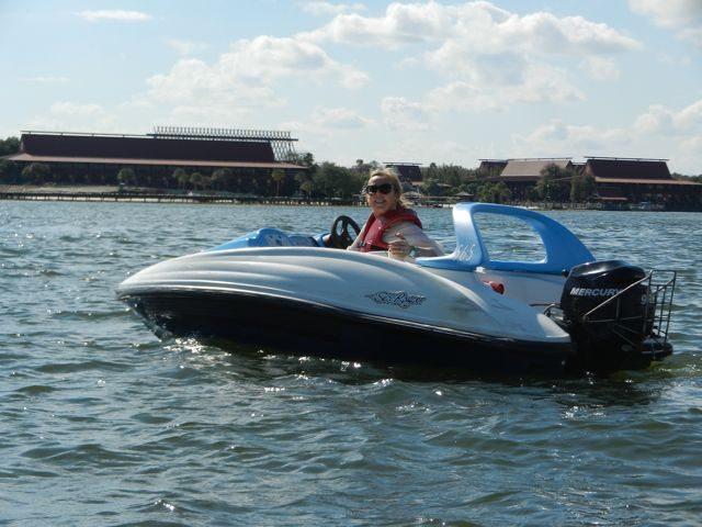 Motor boats at Walt Disney World