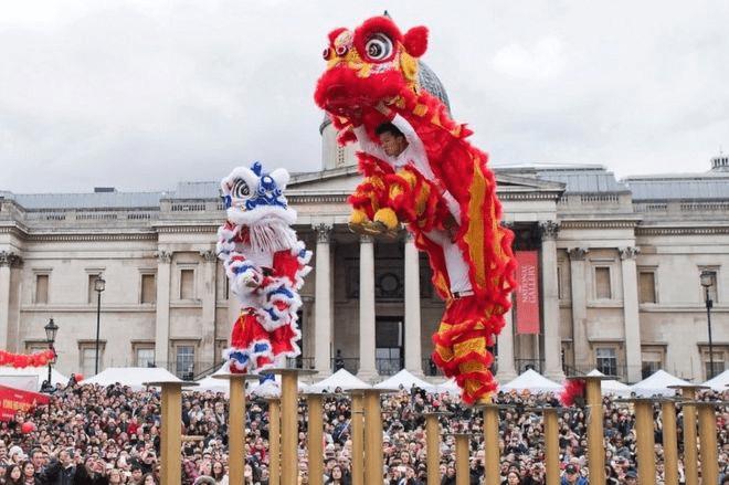 London celebrates the Year of the Dog