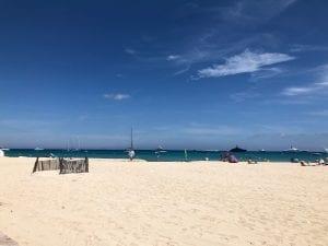 Pampelmousse beach