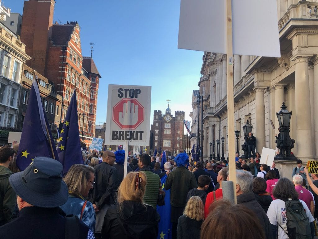 People's Vote March in full swing